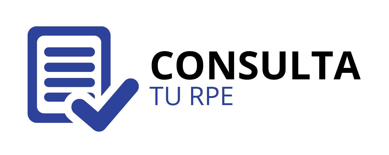 Consulta tu RPE