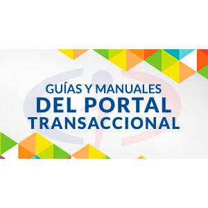 Manuales del Portal Transaccional
