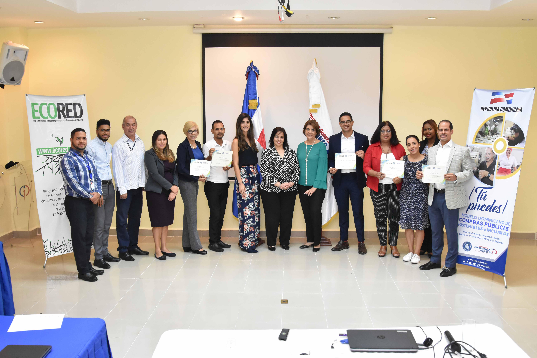 Contrataciones Públicas y ECORED finalizan piloto de responsabilidad social en Mipymes