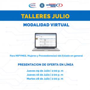 """""""Presentación de Oferta en Línea'' @ Direccion General de Contrataciones Publicas"""