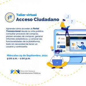 """""""Acceso Ciudadano"""" @ Virtual"""