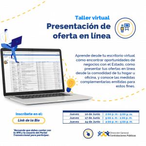 Presentación de Ofertas en línea @ Direccion General de Contrataciones Publicas