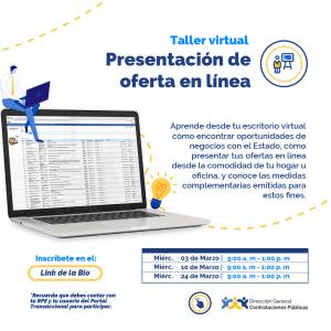 """""""Presentación de Ofertas en línea"""" @ Direccion General de Contrataciones Publicas"""