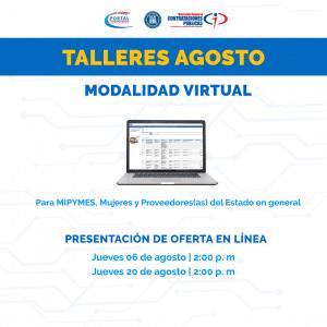 """Presentación de Oferta en Línea'' @ Virtual"