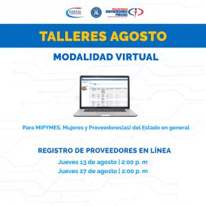 """""""Registro de Proveedores en Línea"""" @ Virtual"""